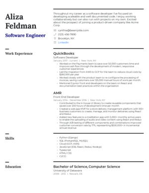 Default custom resume template 7